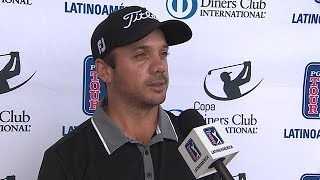 James Vargas interview after Round 2 of the Copa Diners International