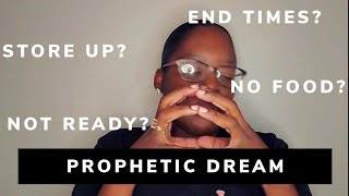 PROPHETIC DREAM. BE PREPARED! ANOTHER VIRUS? ENDTIMES? | IRMEEDAZE | EPI 8