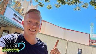 Universal Studios Hollywood Update! NEW HHN Work & More