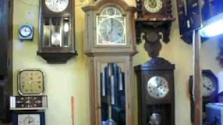 Repeat youtube video FHS grandfather clock with westminster chime