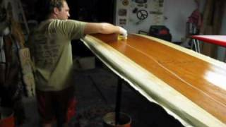 Build Your Own Standup Paddleboard Glassing Sesh 5 Grind Skeggs And Hot Coat.wmv