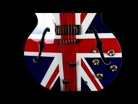 Epiphone Limited Edition Union Jack Sheraton