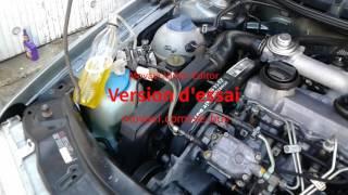 Nettoyage moteur et injecteurs 1.9 TDI VW Golf Seat Skoda Audi