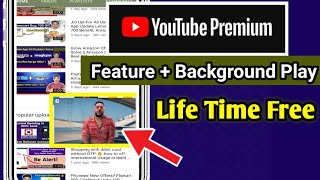 YouTube Background Play, No Ads Problem Solve || Lifetime Free YouTube premium Feature  !! screenshot 3