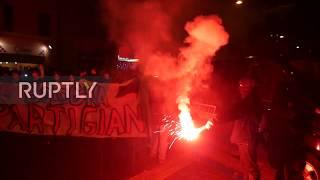 Italy: 'Sardine' flash mob slams Salvini's campaign visit to Bologna