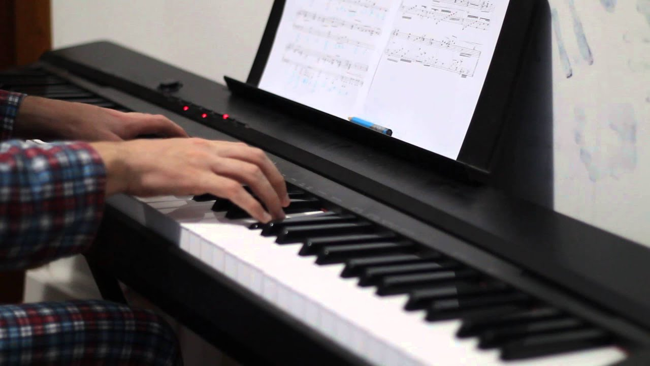 how to play defying gravity on piano for beginners