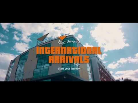 Aston University International Arrivals