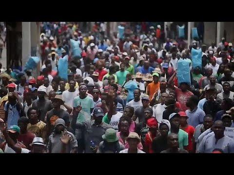 Haïti : les manifestants réclament la démission du président Jovenel Moïse