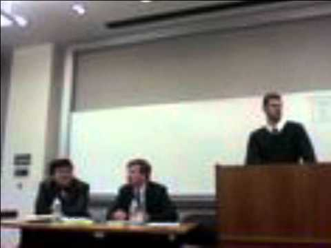 CLS v Martinez Debate. Ronald Chen v. Gregory Baylor at Rutgers Federalist Society (Newark)