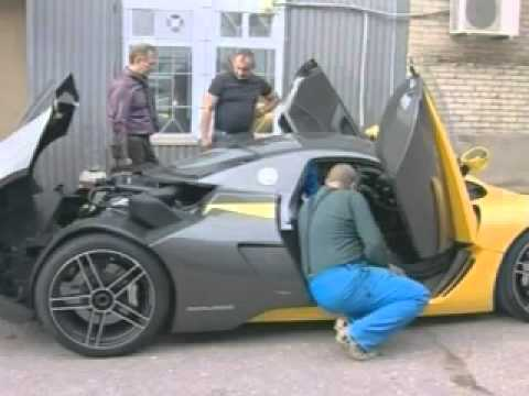 Marussia B1 , Made In Russia Sports Car   YouTube