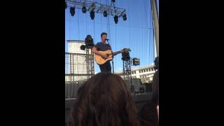 SHAWN MENDES SANG IMAGINATION 7/21/15