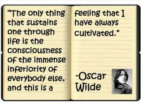 Great Quotes - Oscar Wilde