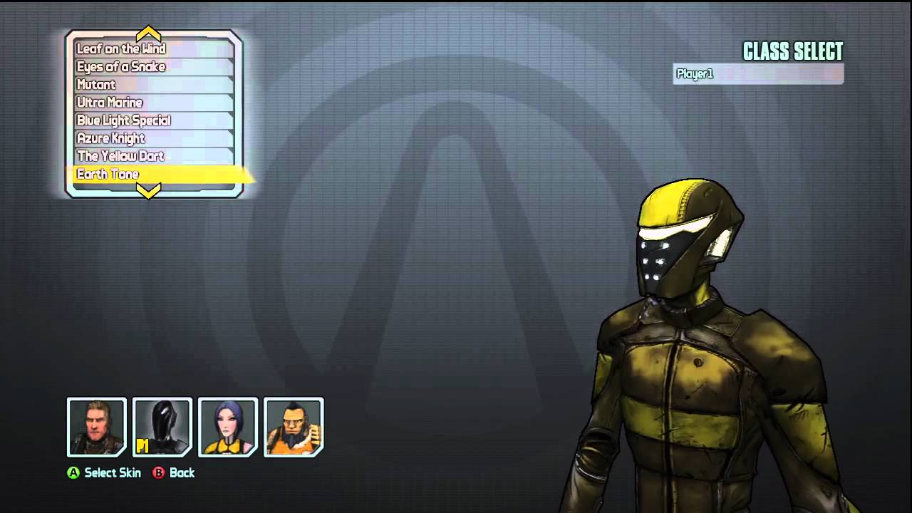 BORDERLANDS 2 - ALL CHARACTERS AND SKINS (FROM THE START ...
