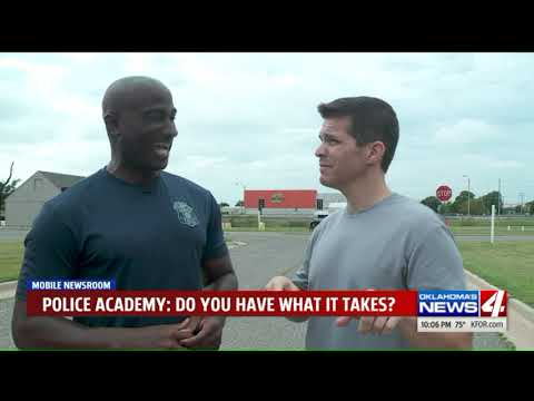 Potential cadets, News 4 reporter get a look inside the OKCP