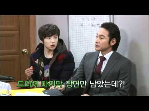 120131 Jung Bo-seok (episode 84 cameo) behind the scenes + interview