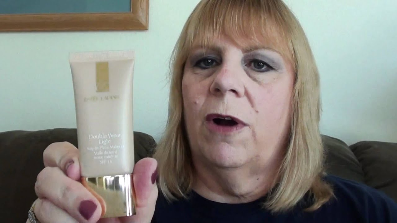 REVIEW: Estee Lauder Double Wear Light Foundation   YouTube