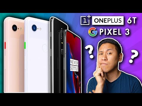 Comparing the ONEPLUS 6T and PIXEL 3: Which One Should YOU Buy? - Brandon's Better Buy