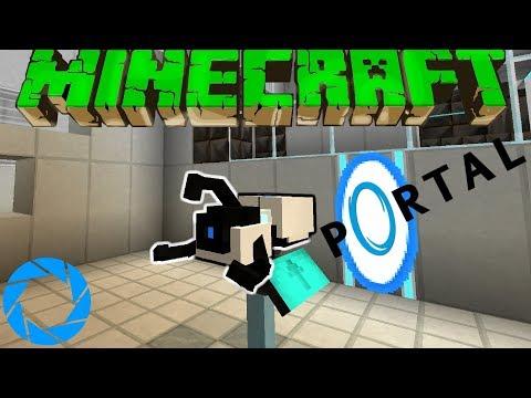 Портал В Майнкрафт?! - Portal Карта в Майнкрафт #1