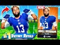 NFL Skin ODELL BECKHAM JR Challenge in Fortnite
