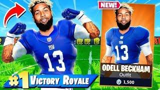 NFL Skin ODELL BECKHAM JR Challenge en Fortnite