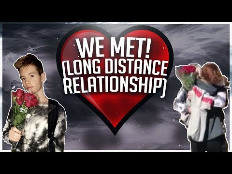 WE MET FOR THE FIRST TIME! (LONG DISTANCE RELATIONSHIP) FT. ZOE LAVERNE AND CODY ORLOVE