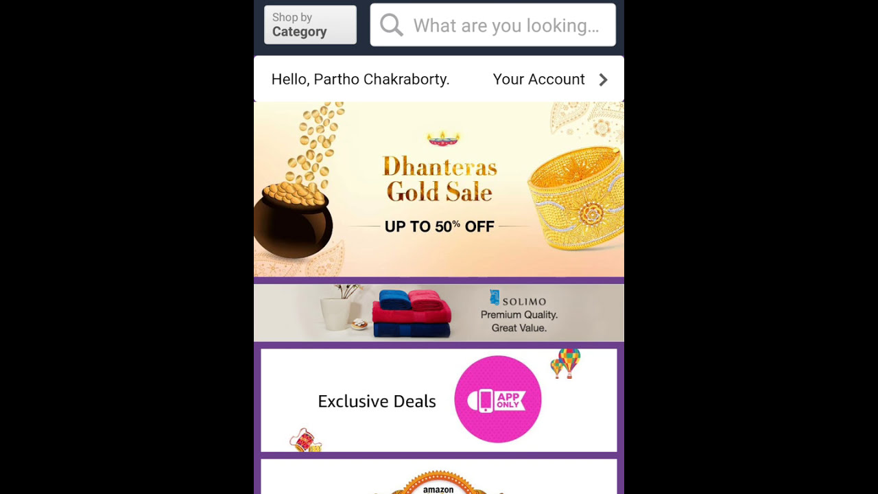 How to bargain while shopping on amazon.in android app.[Hindi]