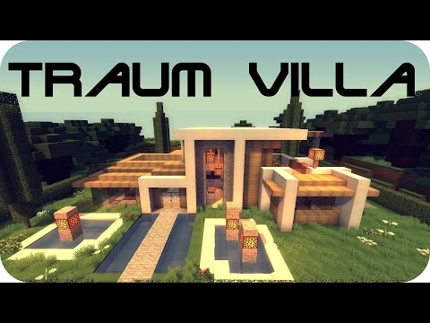 Full download minecraft moderne luxus villa mit moderner for Minecraft modernes redstone haus