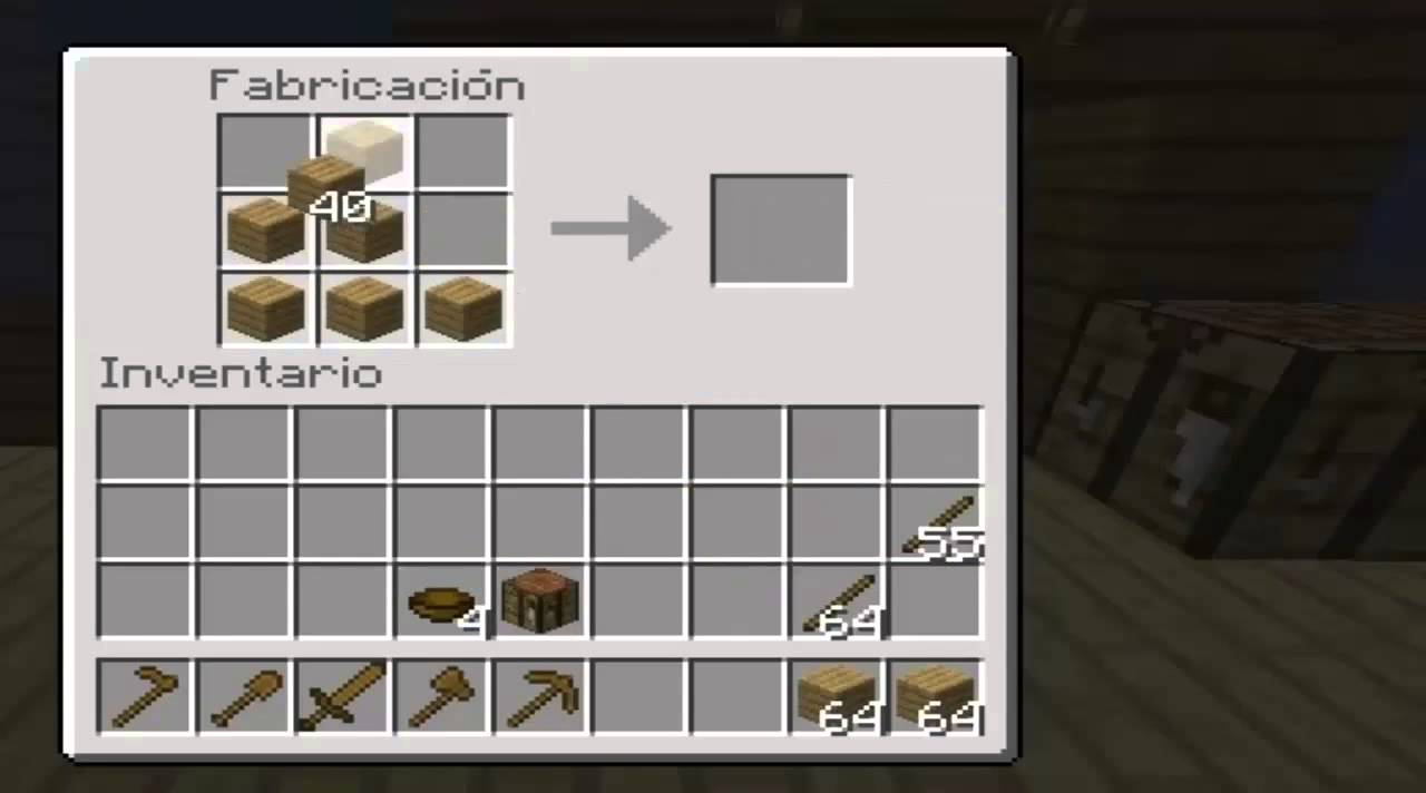 Minecraft todas las cosas qe se pueden hacer de madera 1 - Cosas de madera para hacer ...