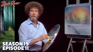 Bob Ross - Winter Elegance (Season 19 Episode 11)