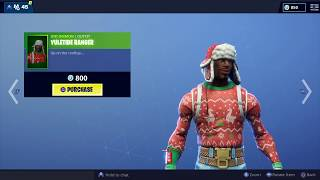 *New* Fortnite Item Shop | CHRISTMAS SKINS ARE BACK | NOG OPS & YULETIDE RANGER !!