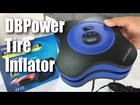 DBPOWER 12V DC Tire Inflator 3 High-air Flow Nozzles /& Adaptors for Cars Bicycles and Basketballs TR-608 Digital Air Compressor Pump with Digital Gauge