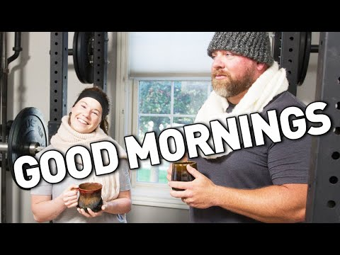 How To: GOOD MORNINGS! Build a Stronger Squat & Deadlift