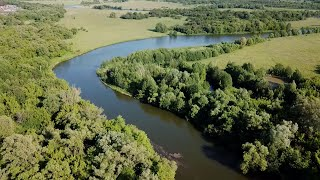 Реки и мосты трассы М5 река Кадада в Пензенской области река Красной книги природы России