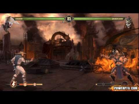 Mortal Kombat - Final Story Bossfight (Raiden vs. Shao Kahn)