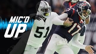 Raiders vs. Texans Mic'd Up Wild Card Highlights | NFL Films | Inside the NFL