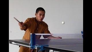 Bóng bàn cơ bản Việt Nam - Kỹ thuật giật trái tay đối bóng xoáy xuống