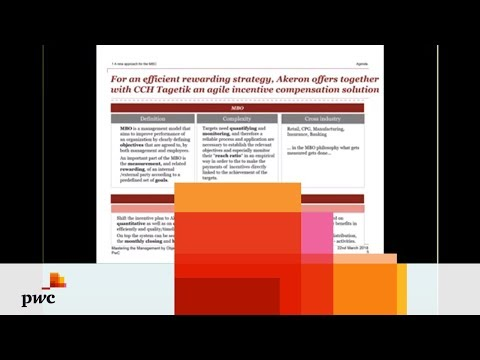 PwC's Mastering Management by Objectives Webinar