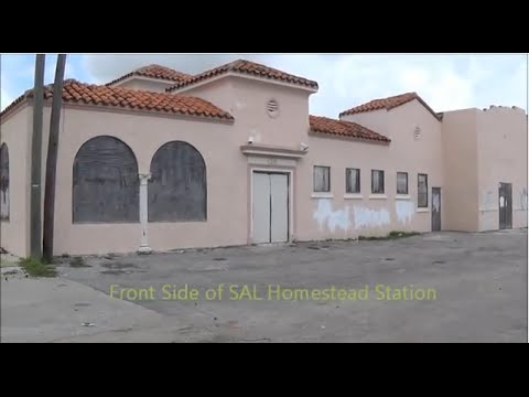 Historic Homestead Seaboard Airline Station
