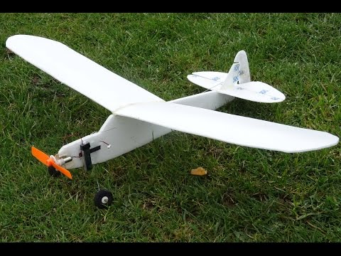 RC Piper Cub (Depron Foam 30g) April2017