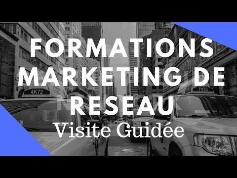 Live 19 - Comment SE FORMER en Marketing de Réseau avec un petit Budget ? Visite Guidée...