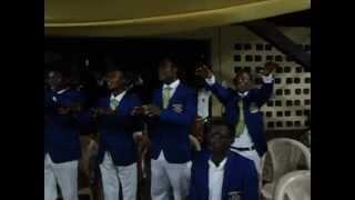 OWASS School Choir  doing a rendition of IMANUS
