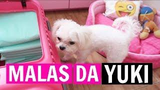 Oi pessoal , o vlog de hoje é arrumando as malas da Yukinha , pq va...