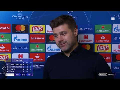 """In football nothing is impossible"" Pochettino reacts to Spurs progressing after Barcelona draw"