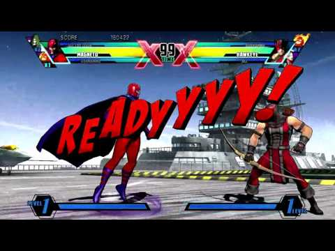 Ultimate Marvel VS Capcom 3 Xbox 360 Arcade as Magneto, Dormammu & Doctor Doom