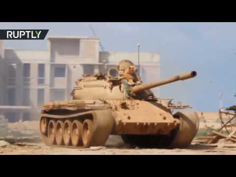 RAW: Libyan National Army forces recapture Ras Lanuf oil port