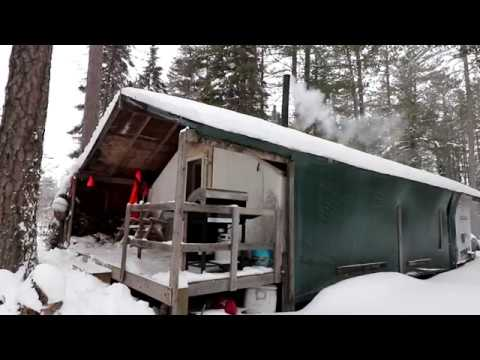 THE TENT. Winter Trip 2019.