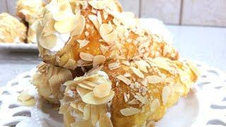 🔴ПИРОЖНОЕ ТРУБОЧКИ С КРЕМОМ  рецепт от местного кондитера Вкусный десерт из слоеного теста
