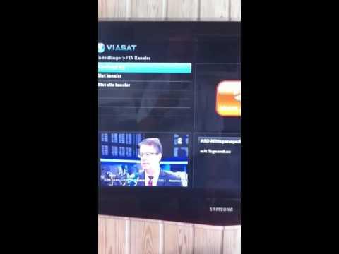Installation af Viasat