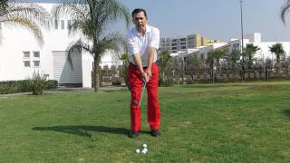 GOLF LESSONS - CHIPPING - HANDS AHEAD OF THE CLUBHEAD