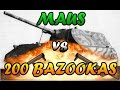 Men of War Assault Squad 2 - MAUS vs 200 Bazookas - Editor Scenario #12